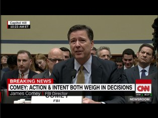 Director Comey via screengrab