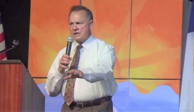 Roy Moore Once Said The Last Time America Was Great Was 'When We Had Slavery'