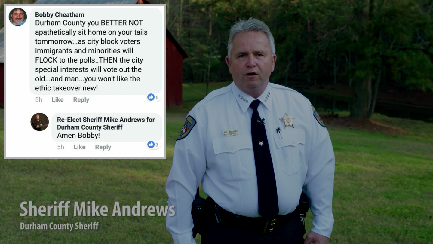 Dem Sheriff Says Amen To Racist Facebook Post Law Crime
