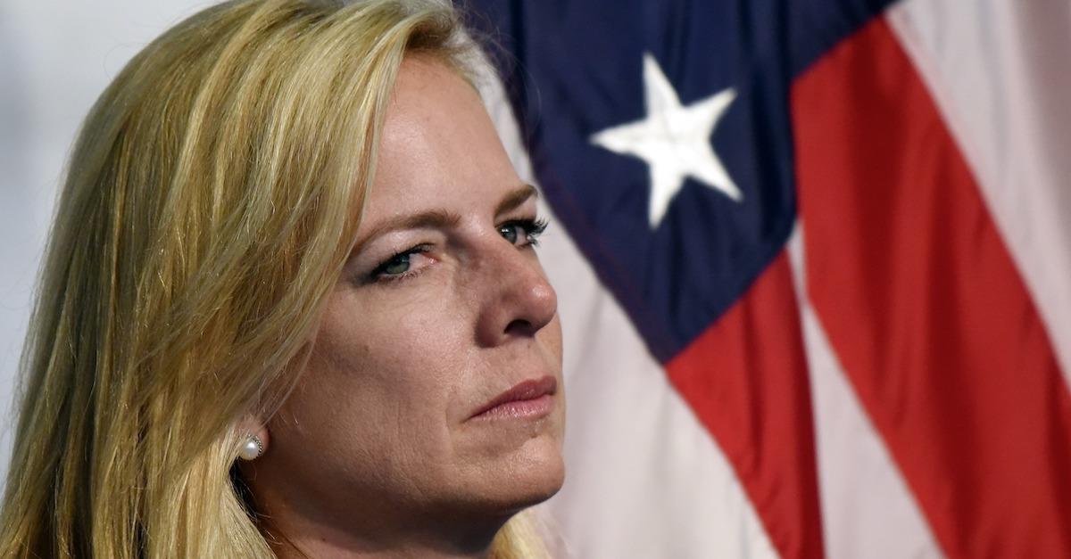 Trump Demanded Kirstjen Nielsen Do Illegal Things to Stop Migrants, Report Says