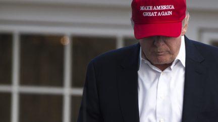 Trump Golf Sad