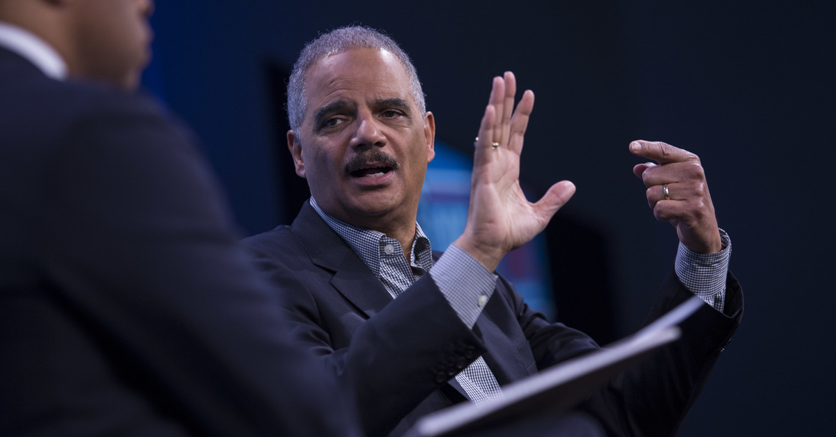 Eric Holder: 'Any Competent' Prosecutor Would Win Obstruction Case Against Trump
