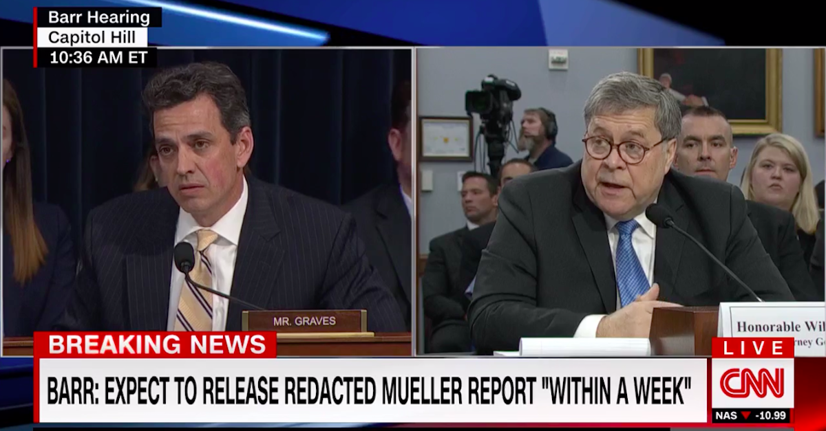 Barr Says He Can't Release Full Mueller Report Due to Recent Court Decision. He's Right, But There's an Exception.
