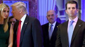 Ivanka Trump, Donald Trump, Allen Weisselberg, Donald Trump, Jr.