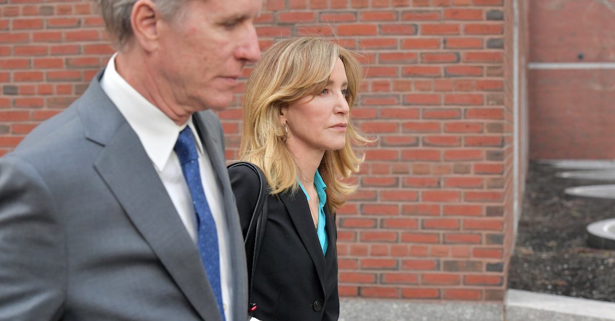 'I Have Betrayed Her': Felicity Huffman Admits She Is 'Ashamed,' Pleads Guilty in College Cheating Scam