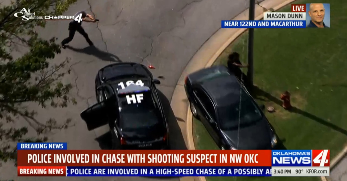 Oklahoma Police Shoot Murder Suspect on Livestream | Law & Crime