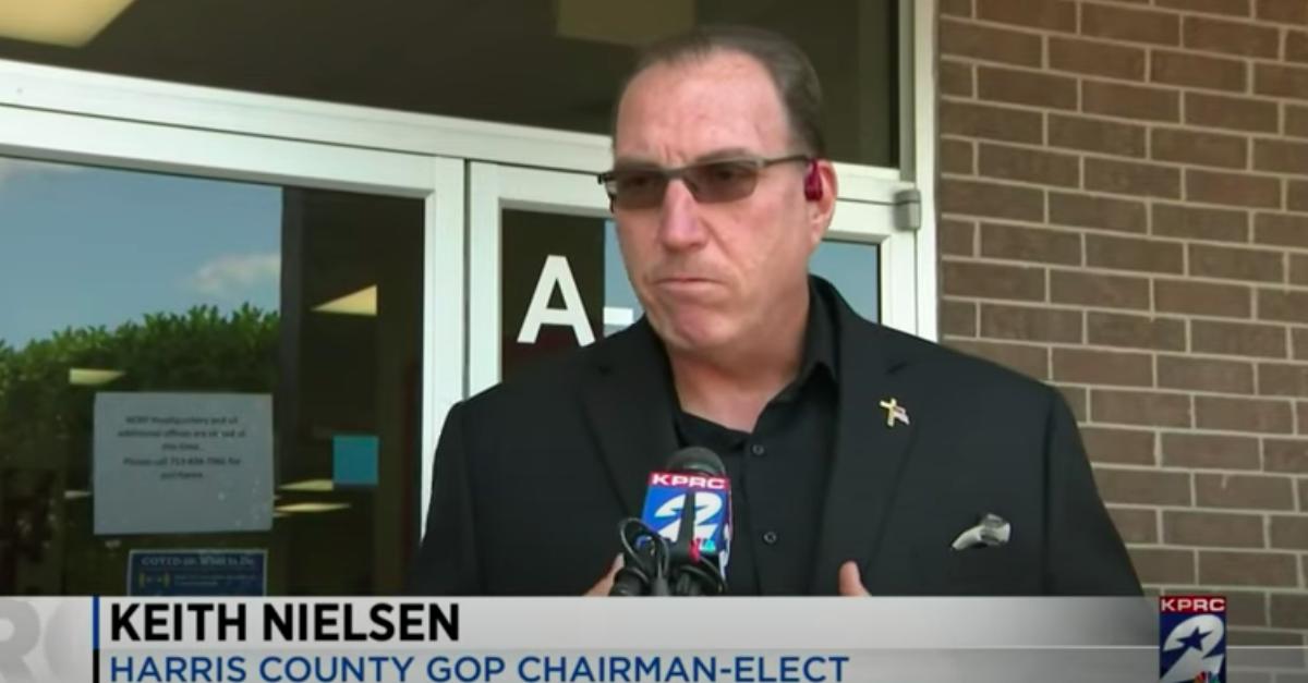 Keith Nielsen No Longer Resigning GOP Chairmanship   Law