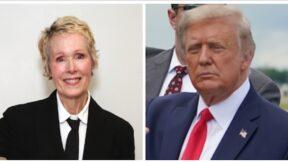 E. Jean Carroll and Donald Trump