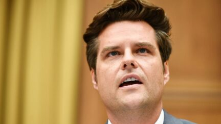 Rep. Matt Gaetz, R-FL, speaks during the House Judiciary Subcommittee on Antitrust, Commercial and Administrative Law hearing on