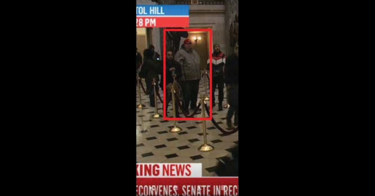 FAA Employee Who Said World War 3 Was Going to Happen on Jan. 6 Was Pictured in Plain Sight Inside Capitol: FBI
