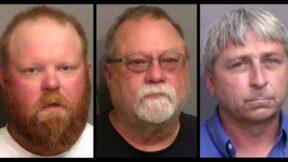 Ahmaud Arbery's accused killers Travis McMichael, Gregory McMichael, William Bryan