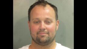 Josh Duggar is seen in a Washington County, Arkansas jail mugshot.