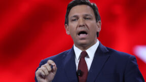 Ron DeSantis at CPAC