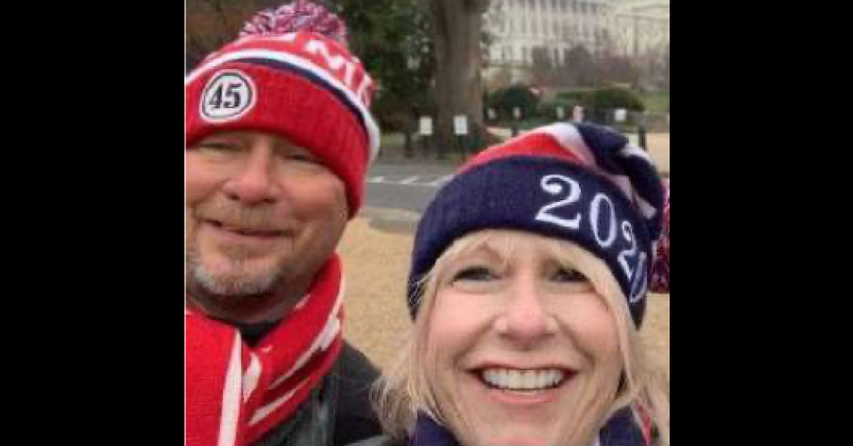 'Patriots Don't Stoop Low Like Antifa': Texas Woman Admits Online that She and Her Husband 'Fought Cops' at U.S. Capitol, Feds Say