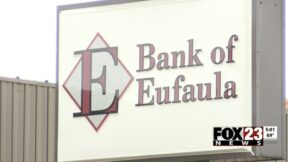 The Bank of Eufaula, where Julie Huff was taken hostage