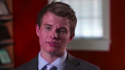 screenshot of JOhn Lambert during NBC News interview