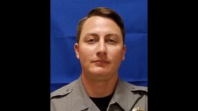 Officer Jonathan Brown is seen in am image provided by the Bristol, Va. Police Dept.