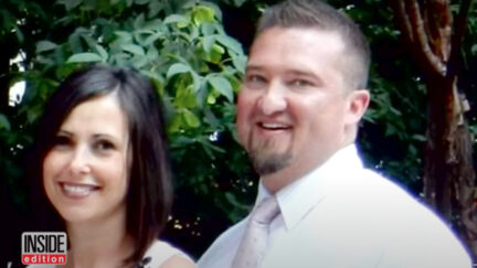 An image shows Ken and Kristy Manzanares.