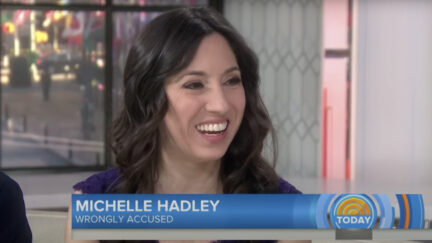 Michelle Hadley on TODAY