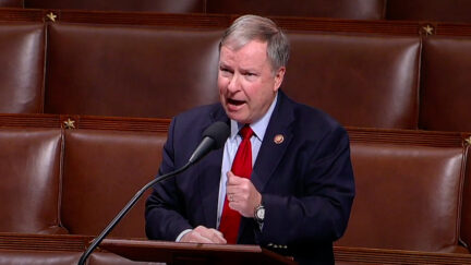 Rep. Doug Lamborn (R-Colo.) speaking on the floor of Congress.