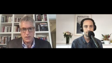 Steven Donziger speaks to Law&Crime's senior reporter Adam Klasfeld via Zoom