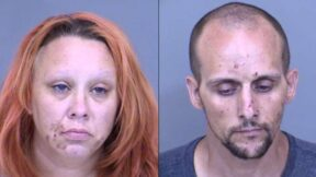 Stormee Wagner and Jason Wagner mugshots
