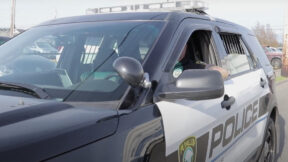A Puyallup Police Cruiser