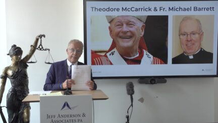 Lawyer announces lawsuit accusing defrocked Cardinal Theodore McCarrick and Opus Dei Bishop
