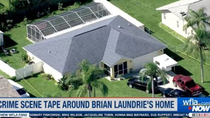 Brian Laundrie's home