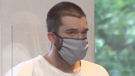 Christopher Tetreault in court