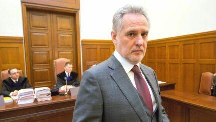 Ukrainian oligarch Dmytro Firtash