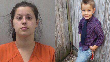 Linda Monette mugshot and Mason Hanahan picture