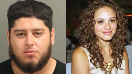Miguel Enrique Salguero-Olivares (L) is accused of murdering Faith Hedgepeth (R) in 2012