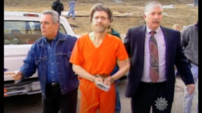Unabomber Ted Kaczynski appears in a screengrab from CBS Sunday Morning/YouTube.