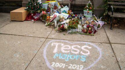 Tessa Majors memorial