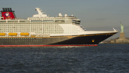 Newest Disney Cruise Line Ship Arrives In New York