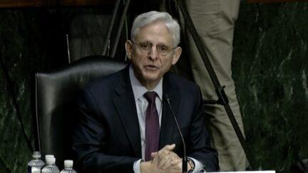 AG Merrick Garland at Senate oversight hearing