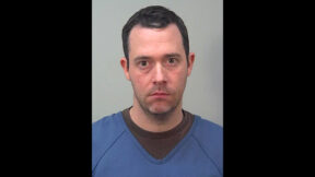 David Kruchten appears in a mugshot released by the Dane County, Wis. Sheriff's Office.