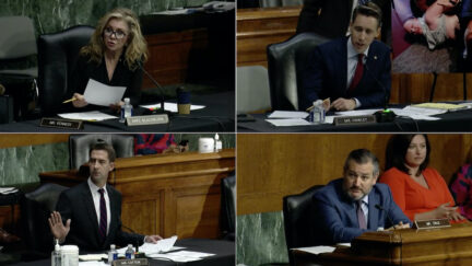 Senate Judiciary Republicans, including Marsha Blackburn, Josh Hawley, Tom Cotton and Ted Cruz, questioned Attorney General Merrick Garland at his first oversight hearing.