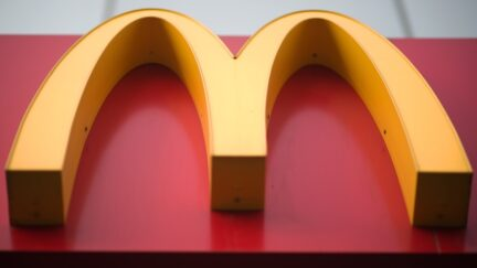 The golden arches of McDonald's