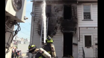 House fire in Lehigh, PA
