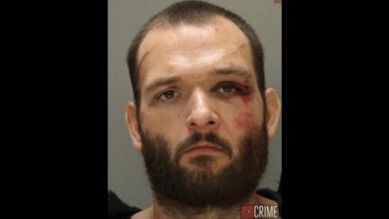 Matthew Moser appears in a mugshot