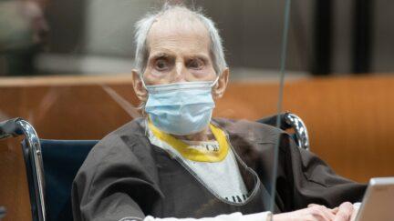 Robert Durst at his Oct. 14 sentencing hearing.
